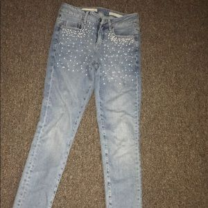 Anthropologie pearl jeans